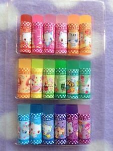 Kawaii 18P Mini Eraser Set Cute Animals Japan Erasers Party Favorr Cute Erasers