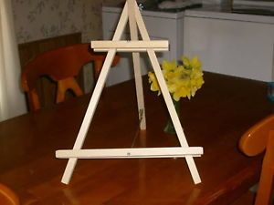 "21"" Heavy Duty White Pine Studio Art Tabletop Easels Artist Easels Display Easel"