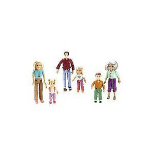 Fisher Price Loving Family Figures Grandma Brother Mom Dad Toddler Sister