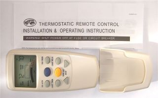 Hampton Bay Ceiling Fan LCD Thermostatic Remote Control