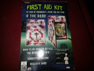 First Aid Kit Animated Halloween Prop