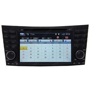 02 08 Mercedes Benz E Class W211 E550 E500 E320 E300 Car GPS Navigation DVD Unit
