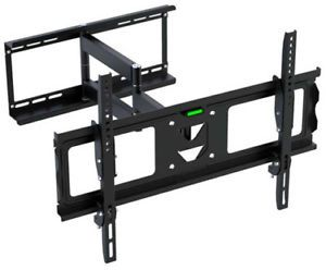 Articulating TV Wall Mount Tilt Swivel Flat Panel Screen Bracket LCD LED 26 55in