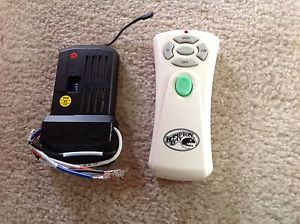 Hampton Bay Ceiling Fan Remote Control Transmitter and Receiver Kit