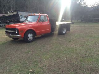 72 Chevy Chevrolet Custom 30 Pickup Truck Dually Flatbed