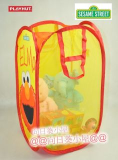 Sesame Street Pop Up Toy Tidy Clothes Storage Hamper