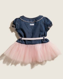 Guess Designer Baby Girl Clothes Dress Shorts Navy Blue Pink 6M 3 6 Months