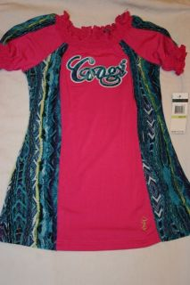 Coogi Baby Clothes Girls Clothes Pink Blue Shirt Size 3T New