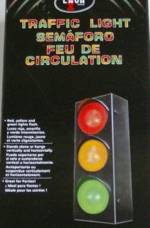 Lava Lamp Traffic Signal Light Red Yellow Green Flash