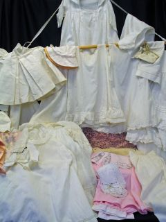 Victorian Edwardian Children's Clothes Lot Infant Baby Toddler Girls Boys