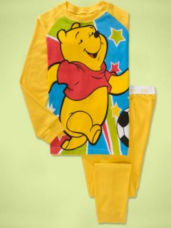"New Baby Toddler Girls Clothes Kids Boys Sleepwear ""Winnie The Pooh"" Pajamas Set"