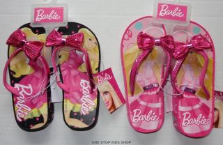 Barbie Doll Girls 11 12 13 1 2 3 Sandals Flip Flops Shoes