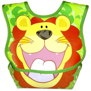 6 Colors Feeding Cloth Animal Waterproof Baby Bib Catch All Folding Pocket Bibs