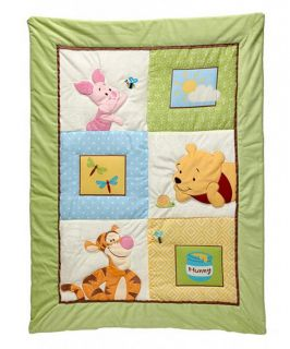 Disney Baby Winnie The Pooh Sunny Day 3 Piece Crib Bedding Set Gender Neutral