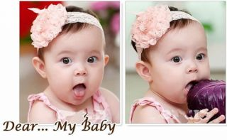 Multi Style Cute Baby Girl Infant Headband Bow Flower Headwear Hair Band Decor
