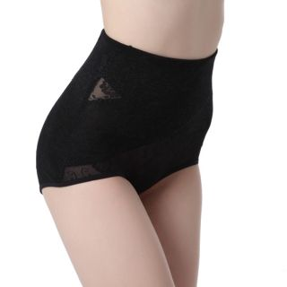 Waist Tummy Women Body Control Shaper Lingerie Cross Underwear Jacquard Knickers