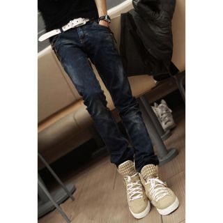 Loose Denim Pants Jeans Trousers Youth Mens Boys Male Leisure Straight Leg Jeans