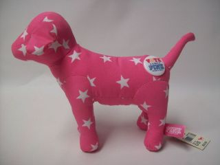 Victoria Secret Pink Dog with White Stars Vote