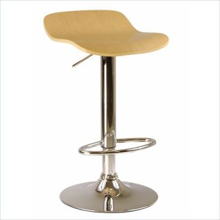 Winsome Kallie Air Lift Adjustable Stools in Natural (Set of 2)   93889
