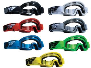 Fly Racing Focus Adult Youth Goggles Motorcycle Racing Dirt Bike Off Road