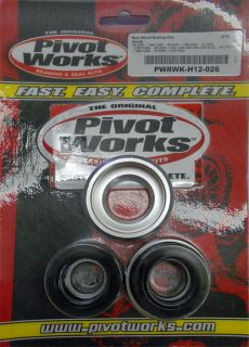 Pivot Works Rear Wheel Bearing Kit Honda XR 200 R 1981 2002 PWRWK H12 026