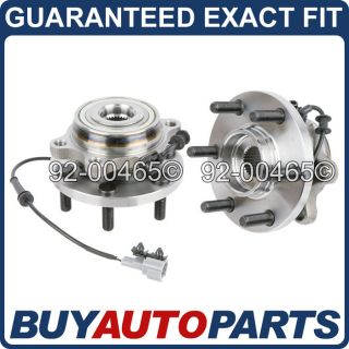 Brand New Front Wheel Hub Bearing Assembly Nissan Pathfinder Xterra Equator
