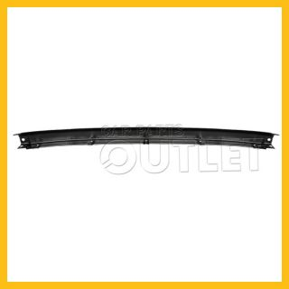 96 97 98 Nissan Pathfinder Painted Mat Black Face Bar Front Bumper Center Steel