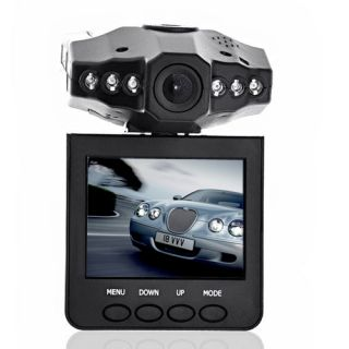 "HD720P IR Car DVR Vehicle Dash Camera Rotatable 270 2 5"" LCD Screen Monitor"