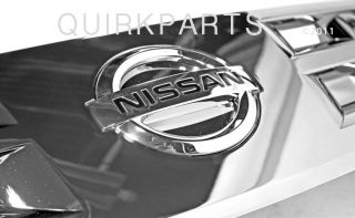 2003 2005 Nissan Murano Front Grille Assembly Chrome Genuine New