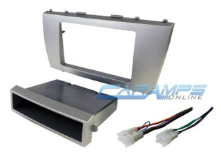 2007 2012 Camry Car Stereo Radio Dash Installation Trim Kit with Wiring Harness