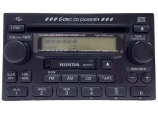 Repair 98 99 00 01 02 Honda Accord Civic CR V CRV Radio 6 CD Disc Changer Player