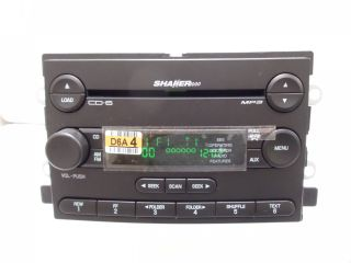 New 05 06 Ford Mustang Shaker 1000 Radio Stereo 6 Disc Changer  CD Player