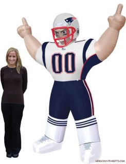 New England Patriots NFL Large 8 ft Inflatable Football Player