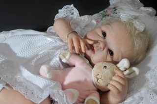 Precious Moments Nursery Reborn Baby Girl Beautiful Paris by Adrie Stoete