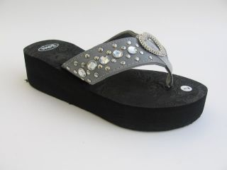 Sexy Studded Strap Heart Platform Flip Flops Sandals Shoes Sz 5 6 7 8 8 5 9