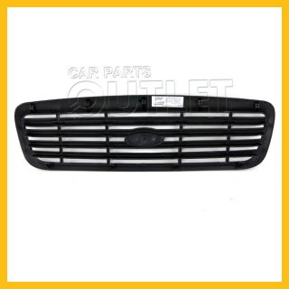 99 00 Ford Crown Victoria Front Grille Matte Black Bar Style Police Interceptor