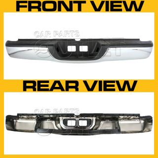 00 06 Toyota Tundra Rear Step Bumper Bracket License Plate Lights Upper Pad Set