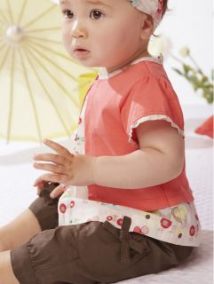 3pcs Kid Child Infant Baby Girl Top Pants Headband Outfit Costume Clothes Red