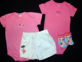 Baby Toddler Girl's Huge Lot Clothes Spring Summer NB 0 3 Months 3M 3 6 Months