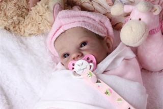 Prototype Sally by Bonnie Brown Beautiful Reborn Baby Doll by Tumblybubs Nursery
