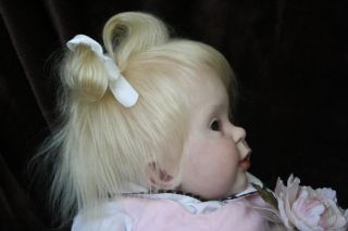 Reborn Baby Girl Toddler Magnetic Pigtail Ultra Realism