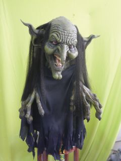 Hanging Witch Haunted House Halloween Prop Scary Creepy Yard Door Garden Effects