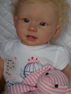 Baby Sunshine Reborn Girl Toddler Doll Bonnie by Linda Murray 99P