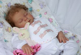 Baby Sunshine Marian Ross Reborn Girl Doll Heather by Donna RuBert