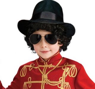 Michael Jackson Costume Fedora Hat Child New