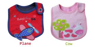 Baby Kid Child Toddler Infant Cute Bibs Waterproof Saliva Towel Feeding Boy Girl