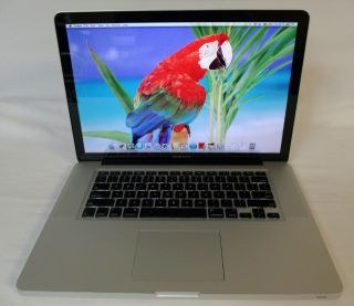 "Apple MacBook Pro 15"" Laptop Intel Core 2 Duo 2 4 GHz 2GB 250GB MB470LL A 718908999226"