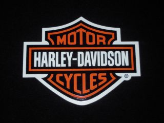 Harley Davidson Motorcycles Classic Bar and Shield Decal Sticker 2 4 x 3