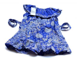 New Baby Girls Kids Floral Dresses Outfit Clothes Batik Flower Multicolor 12 M