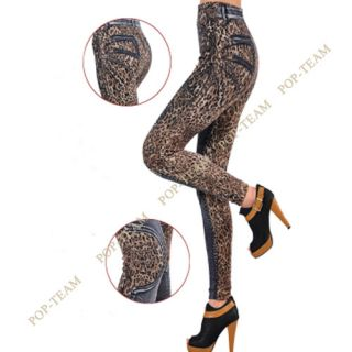 2013 Newly Rock Punk Funky Womens Sexy Leopard Stretch Leggings Tights Pants T70